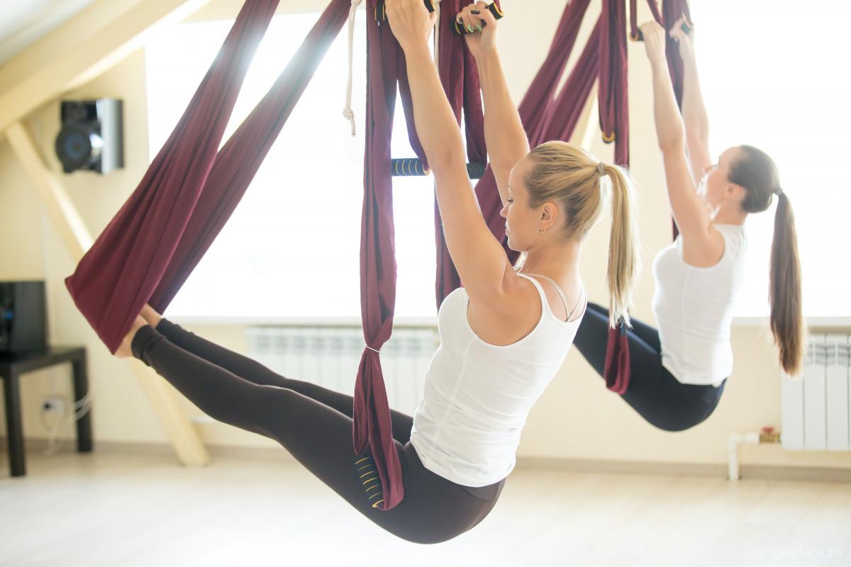 Антигравити-йога - учимся левитации
